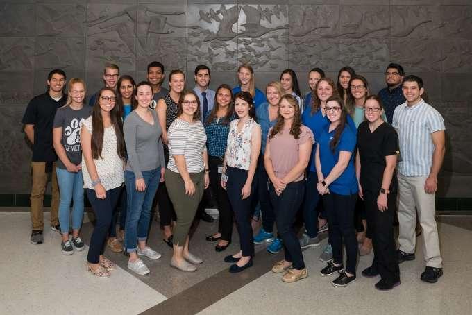 2019 Florida Veterinary Scholars Program Attendees